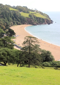 Blackpool Sands, Ruth's walk around the coast. Devon.