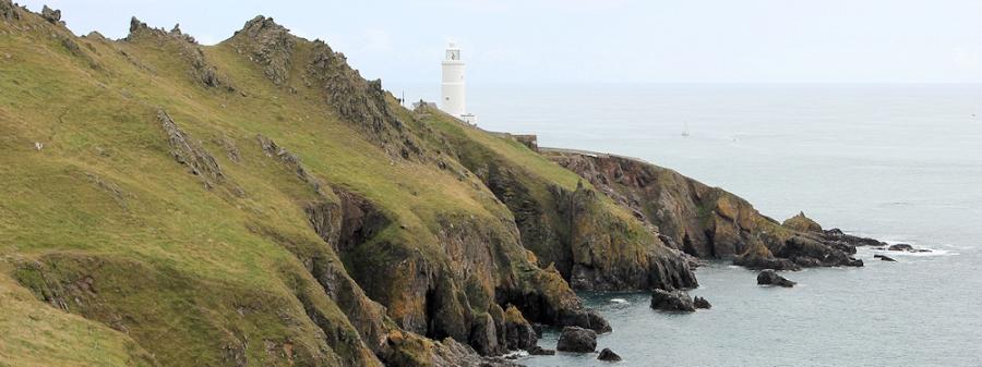 Start Point light house - Ruth's coastal walk, Devon