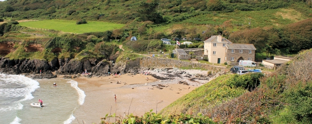 Lannacombe Beach - Ruth's coastal walk, Devon