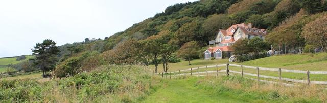 Maelcombe House near Langerstone Point - Ruth's coastal walk, Devon