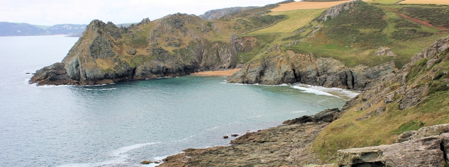 Gammon Head - Ruth's coastal walk, Devon