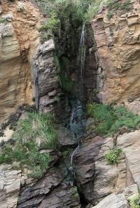 waterfall - Ruth's coastal walk, Devon