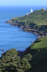 lighthouse at Start Point, Ruth's coastal walk