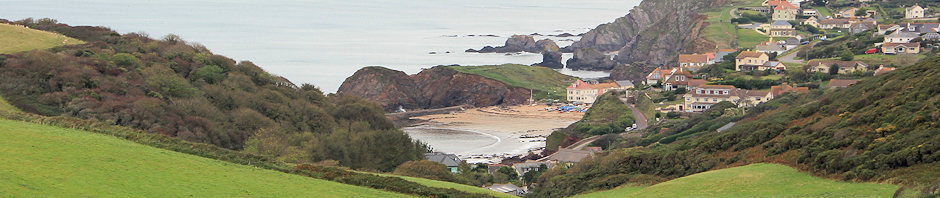 header - Hope Cove, Ruth walking the South West Coast path in Devon
