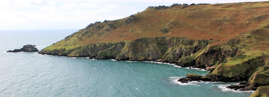 Bolt Head - on South West Coast Path. Ruth's Coast Walk, Devon.