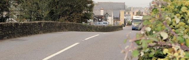 bridge into Aveton Gifford, Ruth's coastal walk through Devon