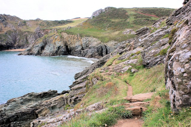 Prawle Point for Artist in Residence (Ruth's coastal walk)