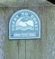 Erme-Plym Way (Coast to Coast) Ruth trying to walk around the coast, Devon