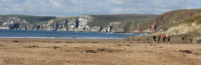 09 Bigbury on Sea, beach
