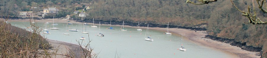 Noss Mayo, ferry crossing, Ruth's coastal walk, Devon