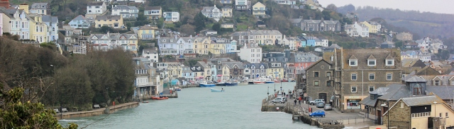 Looe, Ruth walking around the coast, Cornwall