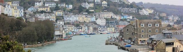 Looe, Ruth walking around the coast, Cornwall