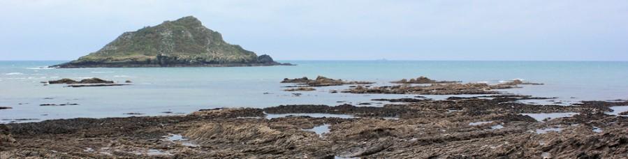 Wembury Point, Great Mew Stone, Ruth's coastal walk, Devon.