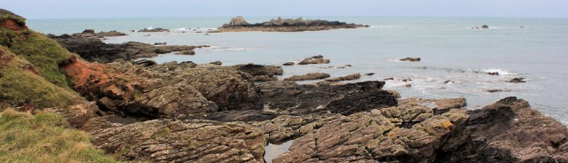 Renney Rocks and Shag Stone, Ruth's coastal walk