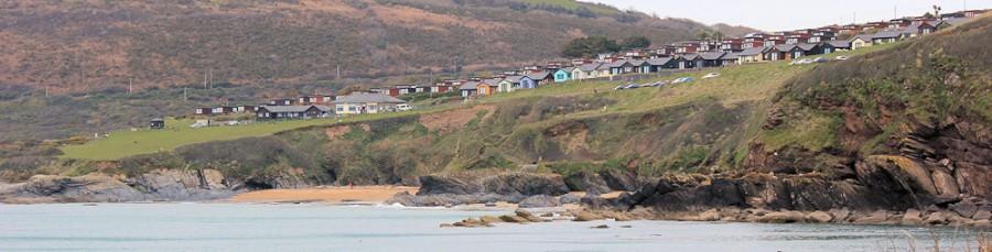 Bovisand Lodge, Ruth walks along the South West Coast Path