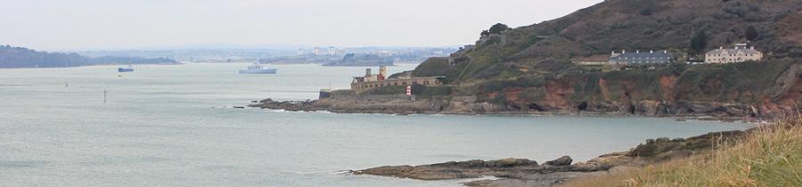 Plymouth sound, Ruth's coastal walk, South West Coast Path