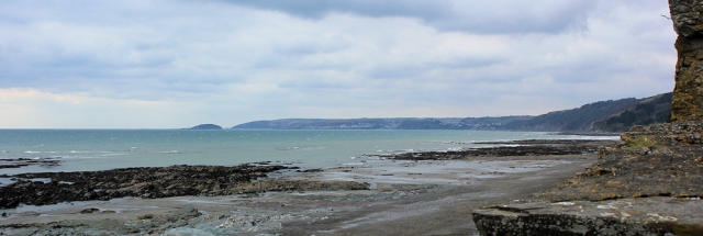 Downderry beach, Ruth's coastal walk to Seaton