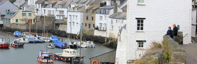 Polperro Harbour, Ruth's coastal walk