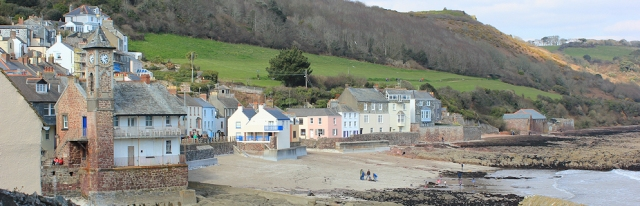 Kingsand and Cawsand, Ruth on the South West Coast Path