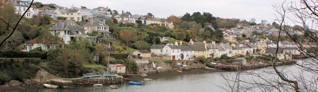 Newton Ferrers, from Noss Mayo, Ruth's coastal walk