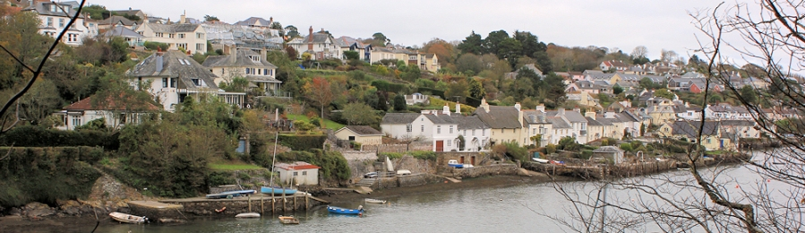 Newton Ferrers, from Noss Mayo, Ruth's coastal walk