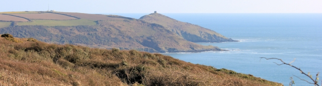 Rame Head, Ruth's coastal walk, South West Coast Path, Cornwall