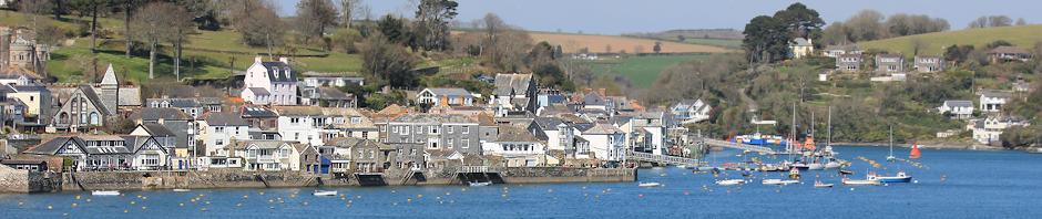 Fowey, Ruth's coastal walk, Cornwall