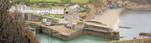 Charlestown, Ruth's coastal walk, Cornwall