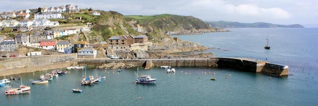 Mevagissey, Ruth's coastal walk, England