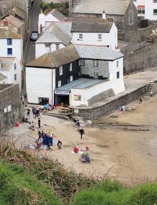 Gorran Haven - Ruth on her coastal walk, Cornwall