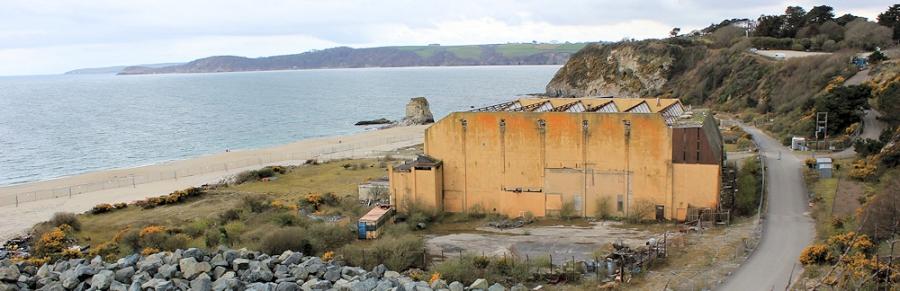 Carlyon Bay, Cornwall, Ruth on the South West Coast Path