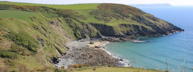 Kiberick Cove, Ruth's coastal walk, SW Coast Path