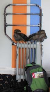 02 drying out walking kit, Ruth's coastal walk.