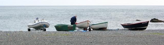 03 Porthallow Beach, Ruth's coastal walk in Cornwall