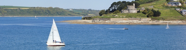 03 St Mawes Castle, Ruths walk along the South West Coast Path, Cornwall