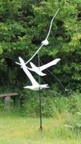 05b Sea Gulls, Terence  Coventry sculpture park, near Coverack, Ruth Livingstone