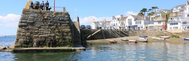 06 St Mawes quay, Ruth Livingstone's coast walk