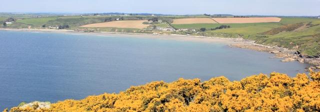 Pendower Beach, Ruth's coastal walking