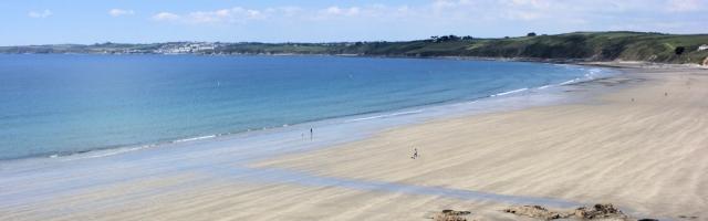 Pendower Beach, Ruths coastal walk