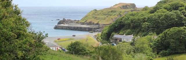 09 Porthoustock, SW coast path, Ruth walking in Cornwall