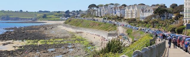 11 Gyllyngvase Beach, Ruth walking the South West Coast Path, Falmouth
