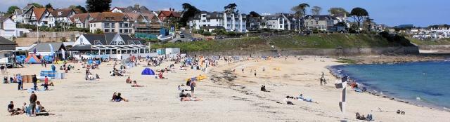 13 Gylly Cafe, Gyllyngvase Beach, Ruth coastal walk, Cornwall