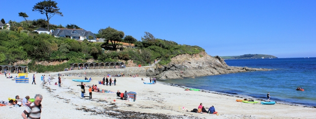 14 Swanpool Beach, Ruth's walk around the coast, Cornwall