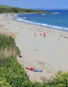 Towan Beach (Cornwall), Ruth's coastal walk