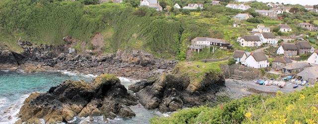 Cadgwith, Ruth's coast walk, SWCP
