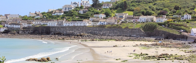 21 Beach at Coverack, Ruth's coastal walk
