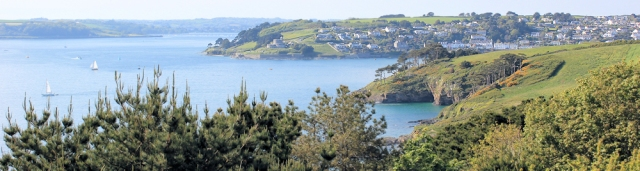 St Anthony Head, St Mawes, Ruth's coastal walk