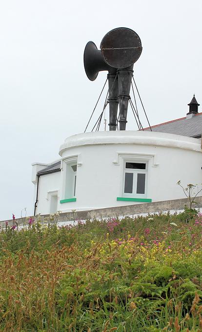Lighthouse foghorns, Lizard, Ruth in Cornwall
