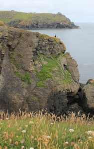 looking back to Bass Point, Bumble Rock, Ruth on Lizard