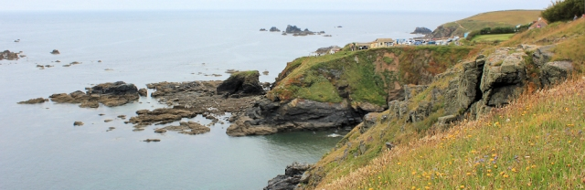 Lizard, Ruth on the South West Coast Path, Cornwall